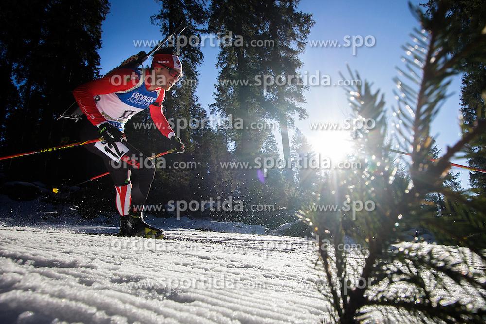 Nathan Smith (CAN) during Men 15 km Mass Start at day 4 of IBU Biathlon World Cup 2015/16 Pokljuka, on December 20, 2015 in Rudno polje, Pokljuka, Slovenia. Photo by Ziga Zupan / Sportida