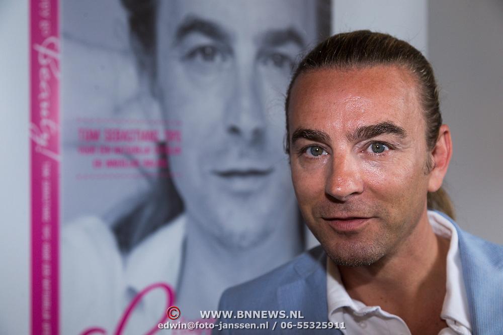 NLD/Amsterdam/20130621 - Boekpresentatie Happy Go Beauty van Tom Sebastian,