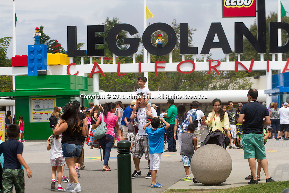 The entrance of Legoland in Carlsbad, California.(Photo by Ringo Chiu/PHOTOFORMULA.com)