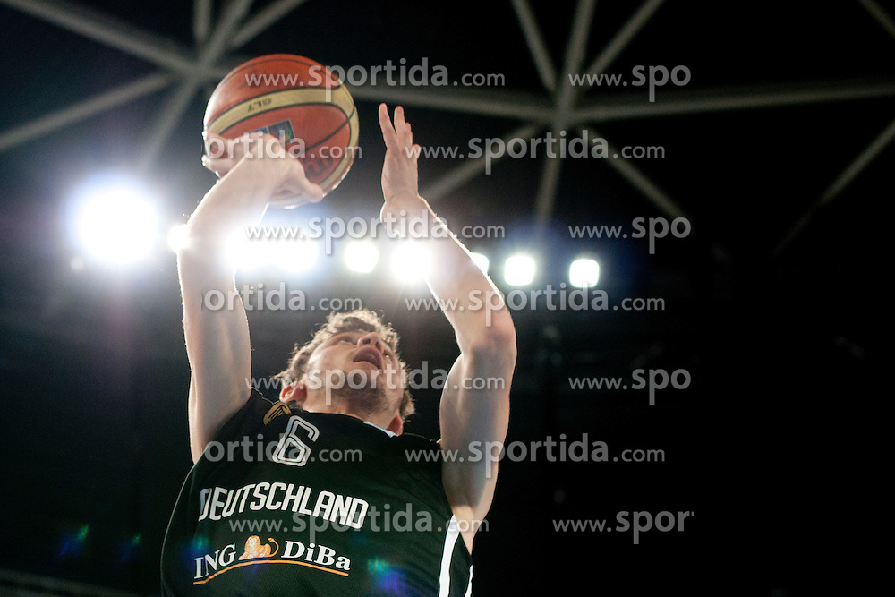 Besnik Bekteshi of Germany during basketball match between National teams of Germany and Latvia in Placement match for 5th place of U20 Men European Championship Slovenia 2012, on July 22, 2012 in SRC Stozice, Ljubljana, Slovenia. (Photo by Urban Urbanc / Sportida.com)