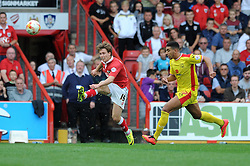 Bristol City's Luke Freeman - Photo mandatory by-line: Dougie Allward/JMP - Mobile: 07966 386802 - 27/09/2014 - SPORT - Football - Bristol - Ashton Gate - Bristol City v MK Dons - Sky Bet League One