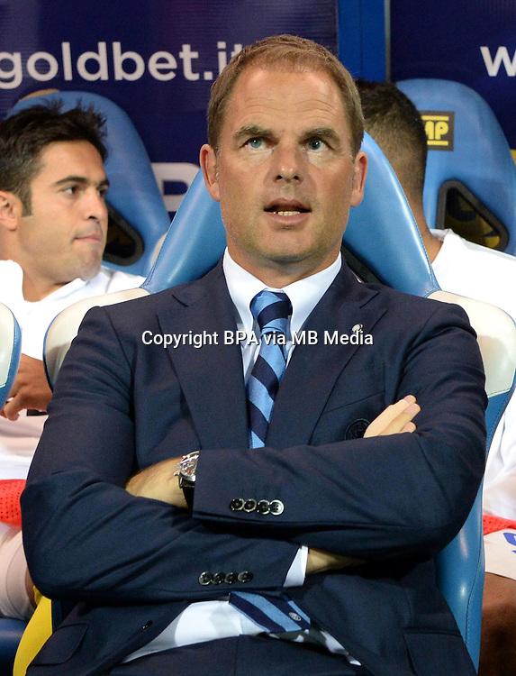 Italian League Serie A -2016-2017 / <br /> ( FC Internazionale ) - <br /> Frank de Boer - DT FC Internazionale