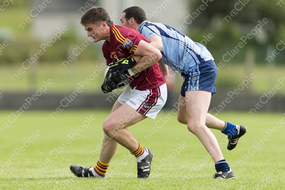 St Joseph's Miltown's Conor Cleary V Cooraclare's Hugh Donnelly