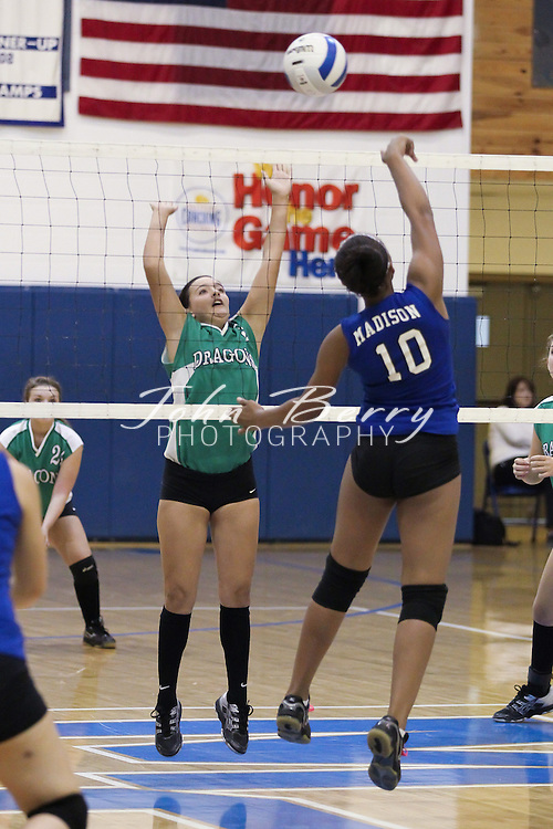 September/25/12:  MCHS JV Volleyball vs William Monroe.  Madison loses to William Monroe 2-0 (16-25, 22-25)