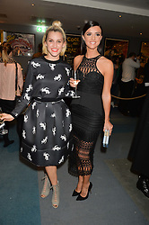 ASHLEY ROBERTS and LUCY MECKLENBURGH at a private screening of Eating Happiness in association with the World Dog Alliance held at Mondrian London, 20 Upper Ground, London on 25th January 2016.
