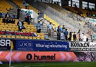 FODBOLD: FC Helsingør fans under kampen i ALKA Superligaen mellem AC Horsens og FC Helsingør den 23. september 2017 på CASA Arena Horsens. Foto: Claus Birch