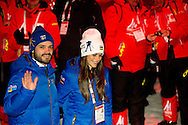 Falun 18-02-2015<br /> <br /> <br /> FIS Nordic World Ski Championships 2015.<br /> <br /> Openingceremony with the attendance of the Royal Family. Prince Carl Philip and Sofia Hellqvist.<br /> <br /> <br /> Photo: Bernard Ruebsamen/Royalportraits Europe