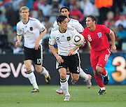 Mesut Ozil during the 2010 World Cup Soccer match between England and Germany in a group 16 match played at the Freestate Stadium in Bloemfontein South Africa on 27 June 2010.