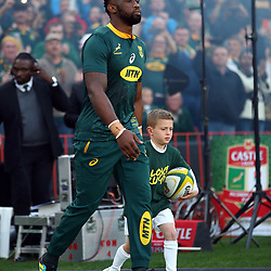 Siya Kolisi (captain) of South Africa during the 2018 Castle Lager Incoming Series 1st Test match between South Africa and England at Emirates Airline Park,<br /> Johannesburg.South Africa. 09,06,2018 Photo by (Steve Haag Sports)