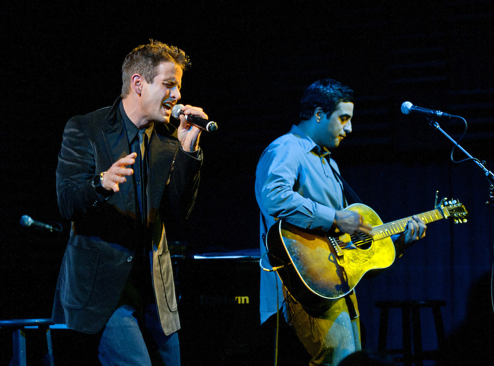 Joey McIntyre and Emanuel Kiriakou