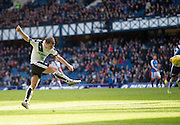 Dundee&rsquo;s Paul McGowan fires a shot just wide - Rangers v Dundee, William Hill Scottish Cup quarter final at Ibrox Park<br /> <br />  - &copy; David Young - www.davidyoungphoto.co.uk - email: davidyoungphoto@gmail.com