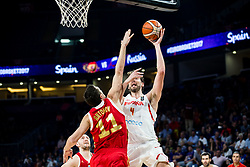 Semen Antonov of Russia vs Pau Gasol of Spain during basketball match between National Teams  Spain and Russia at Day 18 in 3rd place match of the FIBA EuroBasket 2017 at Sinan Erdem Dome in Istanbul, Turkey on September 17, 2017. Photo by Vid Ponikvar / Sportida