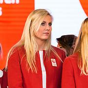 NLD/Scheveningen/20160713 - Perspresentatie sporters voor de Olympische Spelen 2016 in Rio de Janeiro, Laura Dijkema