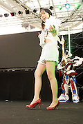 NAGOYA, JAPAN: Rehearsals for the 2012 World Cosplay Summit (WCS) at Oasis 21.