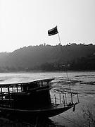 Mekong River ferry.
