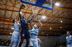 Diabate  Moussa of France during basketball match between National teams of Slovenia and France in the Group Phase C of FIBA U18 European Championship 2019, on July 27, 2019 in Nea Ionia Hall, Volos, Greece. Photo by Vid Ponikvar / Sportida