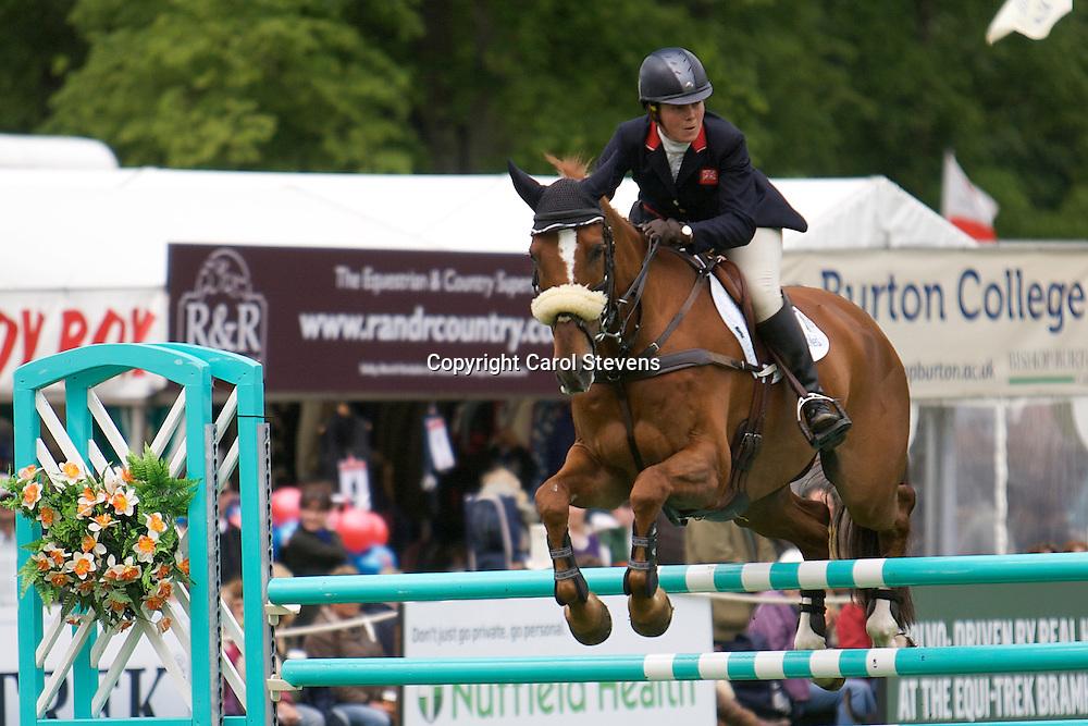 Equi-Trek Bramham International Horse Trials 2012 CIC3*<br /> Lucy Wiegersma and Woodfalls Inigo Jones