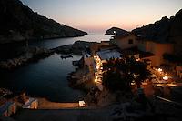 the Baie des Singes (Monkey Bay).near Marseille...