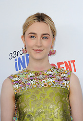 Saoirse Ronan at the 2018 Film Independent Spirit Awards held at Santa Monica Beach, USA on March 3, 2018.