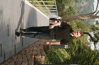 """16 JUL 1999 - ROEHNDORF, GERMANY:<br /> Carsten Schneider, MdB, SPD Youngster, während der SPD Radtour """"Abschied vom Rhein""""<br /> Carsten Schneider, MdB, SPD, during a trip with a part of the SPD parliamentary group to a """"Goodbye from Rhine""""  Tour<br /> IMAGE: 19990716-01/06-07"""