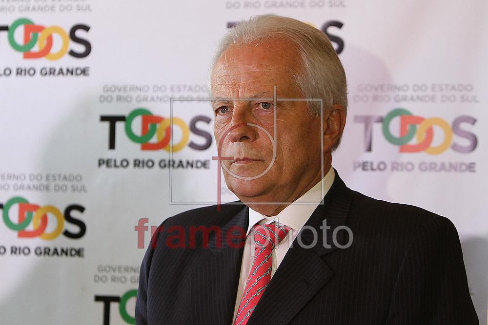 Porto Alegre (RS), 19/03/2015. José Paulo Cairoli, Vice-Governador do Rio Grande do Sul, no Palácio Piratini em Porto Alegre, nesta quinta-feira (19). FOTO: Itamar Aguiar/ Raw Image/Frame