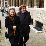 Presentatie Unicef CD Amsterdam, Bennie Jolink en vrouw Ellie