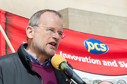 Labour MP for Sheffield Central. PPS to Shadow Foreign Secretary, Paul Blomfield,  addresses the rally held in Sheffield on Saturday 9 April, to protest against the Department for Business, Innovation and Skills (BIS) announcement that it will close BIS Sheffield, its biggest office outside London.<br />