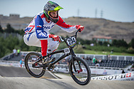 Men Elite #234 (CONCHA RIVAS Jose Miguel) CHI the 2018 UCI BMX World Championships in Baku, Azerbaijan.