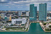 Freedom Tower, American Airlines Arena & Bicentennial Park