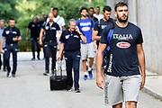 Amedeo Tessitori<br /> Nazionale Italiana Maschile Senior - Trentino Basket Cup 2019<br /> Italia Italy Romania Romania<br /> FIP 2019<br /> Trento, 30/07/2019<br /> Foto M.Ceretti / Ciamillo-Castoria