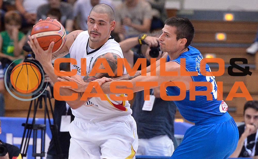 DESCRIZIONE : Trento Nazionale Italia Uomini Trentino Basket Cup Italia Germania Italy Germany <br /> GIOCATORE : <br /> CATEGORIA : controcampo<br /> SQUADRA : Germania Germany<br /> EVENTO : Trentino Basket Cup<br /> GARA : Italia Germania Italy Germany<br /> DATA : 01/08/2015<br /> SPORT : Pallacanestro<br /> AUTORE : Agenzia Ciamillo-Castoria/R.Morgano<br /> Galleria : FIP Nazionali 2015<br /> Fotonotizia : Trento Nazionale Italia Uomini Trentino Basket Cup Italia Germania Italy Germany