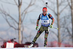 11.03.2016, Holmenkollen, Oslo, NOR, IBU Weltmeisterschaft Biathlon, Oslo, 4x6 Km Staffel, Damen, im Bild Laura Dahlmeier (GER) // during 4x6 km women relay of the IBU World Championships, Oslo 2016 at the Holmenkollen in Oslo, Norway on 2016/03/11. EXPA Pictures © 2016, PhotoCredit: EXPA/ Newspix/ Tomasz Jastrzebowski<br /> <br /> *****ATTENTION - for AUT, SLO, CRO, SRB, BIH, MAZ, TUR, SUI, SWE only*****