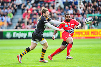 Elliot DALY - 05.04.2015 - Toulon / Londres Wasps - 1/4Finale European Champions Cup<br />