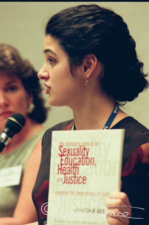 Sarah Gibb was a co-author of Our Whole Lives Sexuality curriculum, introduced at this GA