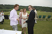 JAMES STUDHOLME, EARL AND COUNTESS OF WOOLTON, Guy Leymarie and Tara Getty host The De Beers Cricket Match. The Lashings Team versus the Old English team. Wormsley. ONE TIME USE ONLY - DO NOT ARCHIVE  © Copyright Photograph by Dafydd Jones 66 Stockwell Park Rd. London SW9 0DA Tel 020 7733 0108 www.dafjones.com