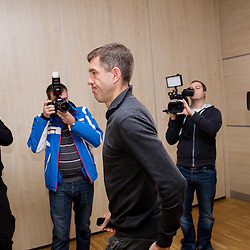 20130122: SLO, Football - Press conference of Srecko Katanec, head coach of team Slovenia
