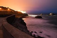 Cliff House and Seal Rocks at Night, San Francisco, California
