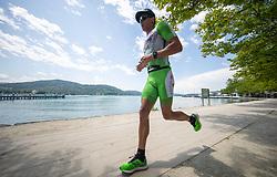 07.07.2019, Klagenfurt, AUT, Ironman Austria, Laufen, im Bild Lukasz Wojt (GER) // Lukasz Wojt (GER) during the run competition of the Ironman Austria in Klagenfurt, Austria on 2019/07/07. EXPA Pictures © 2019, PhotoCredit: EXPA/ Johann Groder