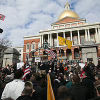 Boston Gun Control Protest, 1/19/13