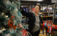 """RETAIL11P<br /> Pat Ficarotta, of Yardley, Pennsylvania shops in the holiday section at Kohl's Friday October 2, 2015 in Yardley, Pennsylvania.  Kohl's plans to add 69,000 seasonal jobs, with hiring to start this month, """"to ensure an easy shopping experience and great service during the busy holiday shopping season.""""  William Thomas Cain /For The Inquirer"""
