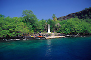 Cook's Munument, Kealakekua Bay, Island of Hawaii<br />