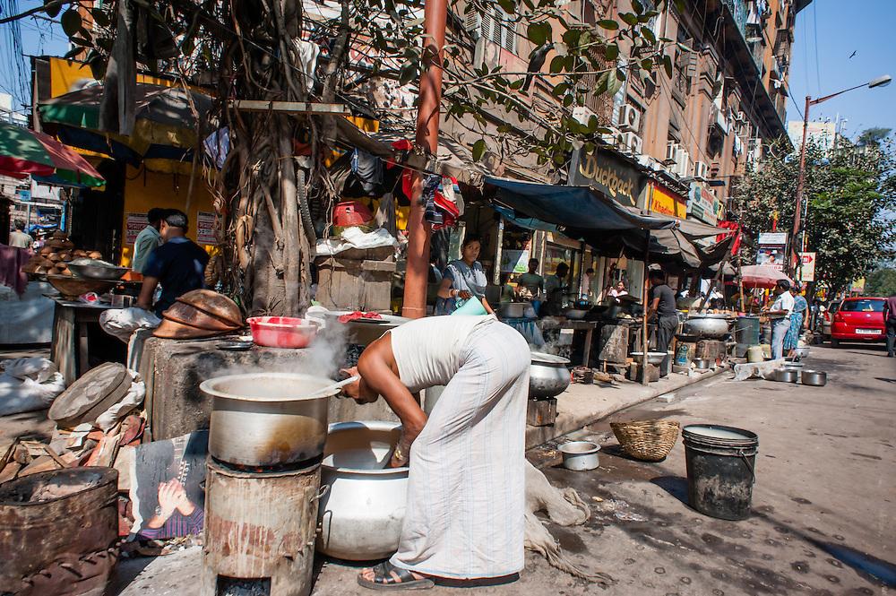 Kolkata streets life.