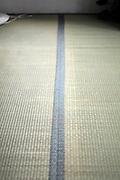 tatami mat flooring inside Japanese house