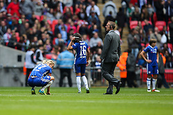 Katie Chapman of Chelsea Ladies disappointed - Mandatory byline: Jason Brown/JMP - 14/05/2016 - FOOTBALL - Wembley Stadium - London, England - Arsenal Ladies v Chelsea Ladies - SSE Women's FA Cup