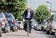 The Mayor Boris Johnson visits the Jewish community in Stamford Hill, London
