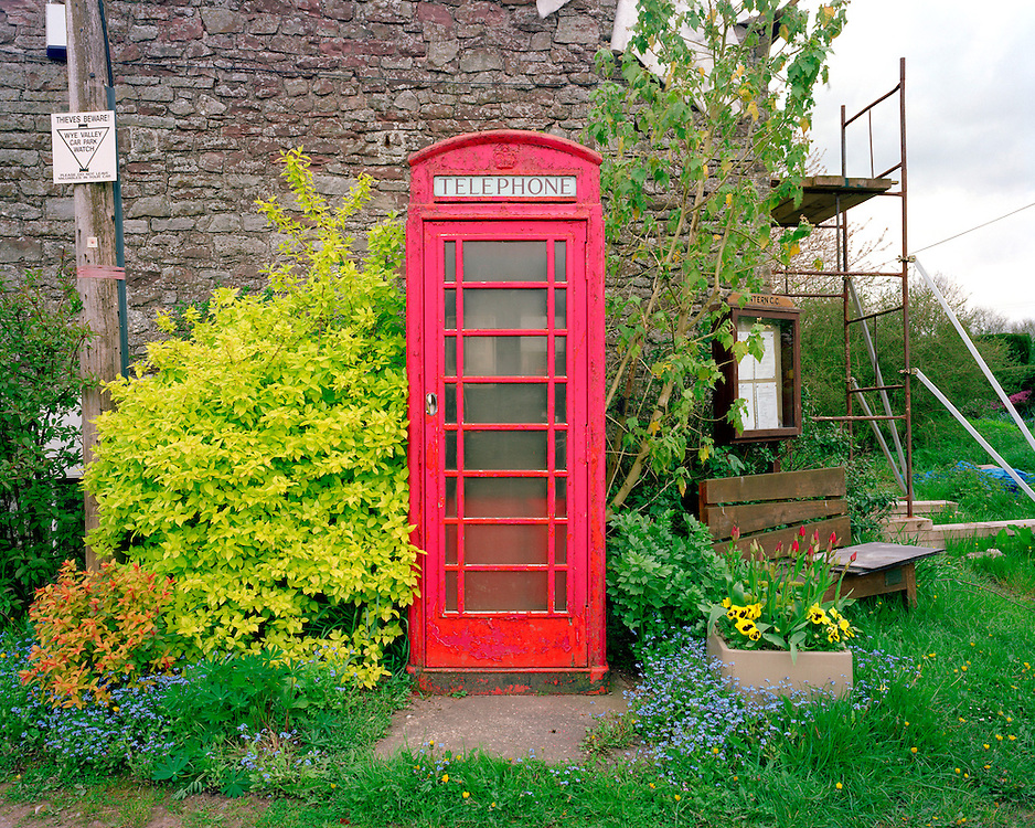 This kiosk is in: The Coat, Tintern-Parva, Chepstow, Monmouthshire, Wales.<br /> Phone number: 01291 689342