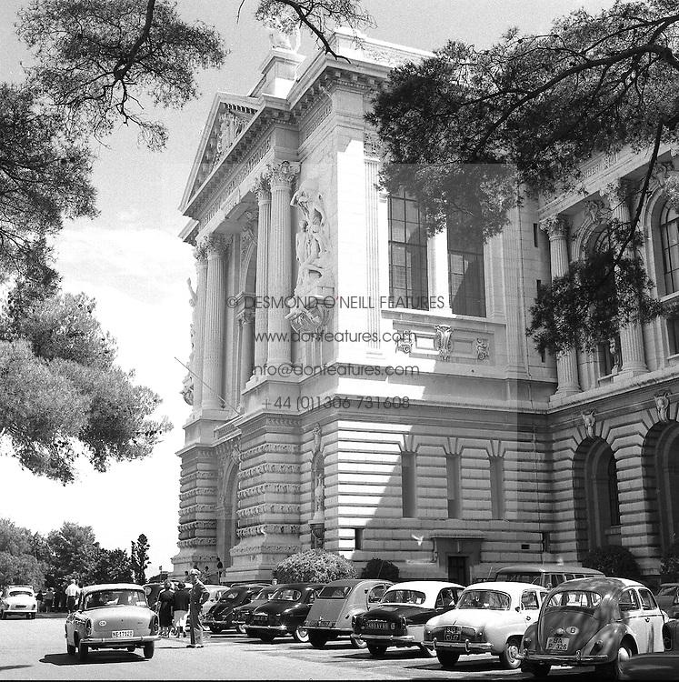The Aquarium, Monte Carlo, Monaco in February 1960.