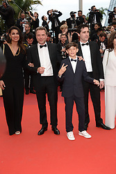 May 14, 2019 - Cannes, France - CANNES, FRANCE - MAY 14: (L-R) Ryme Wehbi, Guillaume de Tonquédec, guest, Yoann Guillouzouic and Magali Potier attend the opening ceremony and screening of ''The Dead Don't Die'' during the 72nd annual Cannes Film Festival on May 14, 2019 in Cannes, France (Credit Image: © Frederick InjimbertZUMA Wire)