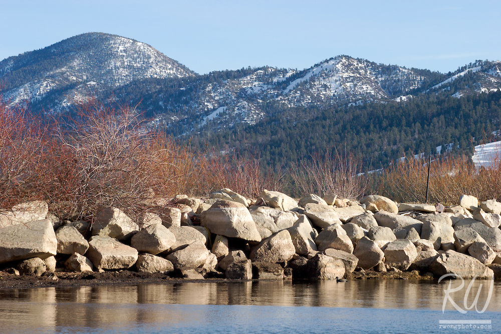 Big Bear Lake, San Bernardino Mountains, California