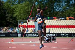 SENEVIRATHNAGE Nishantha, SRI, Javelin, F46, 2013 IPC Athletics World Championships, Lyon, France